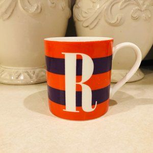 Kate Spade Wickford Red Letter Day Mug R Monogram